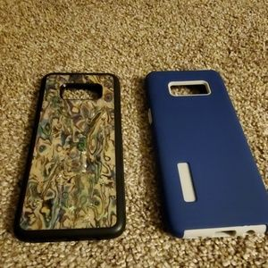 Carved brand S8 phone case